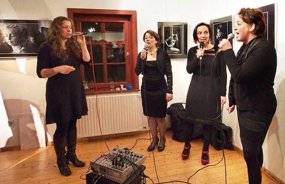 """24.01.2014 Vernissage der Fotoaustellung """"Kontrast"""" im Bürgerhaus Zella-Mehlis"""
